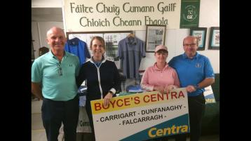 WATCH:  This week's pictures and reports from the golf clubs around Donegal