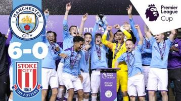 WATCH: 'Superb from Liam Delap!' - Donegal delight as Man City youngsters romp to cup glory
