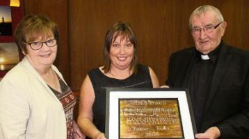 Treasa awarded Cnoc Fola person of the year