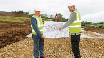 Donegal town housing development starts