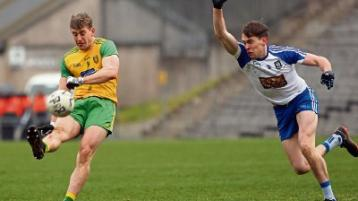 Frustrated Donegal manager Declan Bonner targeting points from Monaghan game