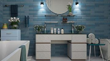 Interiors: How to style a subway tile