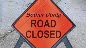 Donegal people advised that road will be completely closed for essential road works