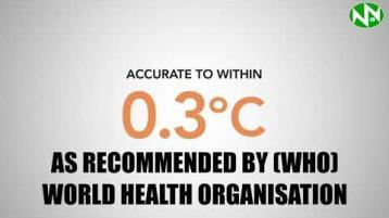 Covid-19 staff and customer temperature check system