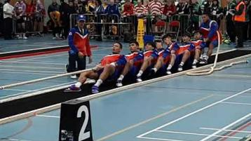 Watch: World Indoor Tug of War Championships being staged in Donegal