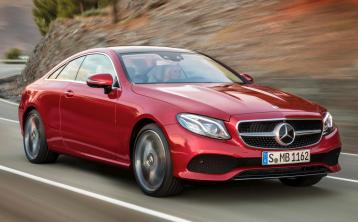 The new Mercedes-Benz E-Class Coupé has arrived in Ireland