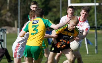 Two late first half goals enough for Tyrone to overcome Donegal in killyclogher