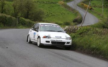 Donegal man nominated for Young Rally Driver of the Year