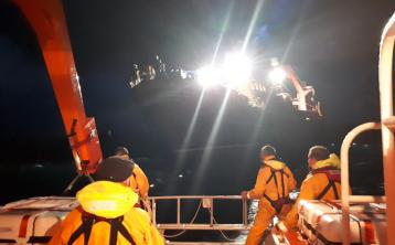 Arranmore RNLI Lifeboat home after demanding 14-hour rescue