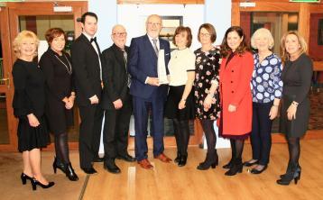 Hall of Fame award at Ballyshannon Drama festival for John Travers