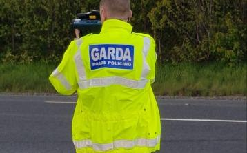 Over five hundred people stopped for speeding within a three month period in Donegal