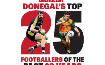Donegal Democrat's top 25 footballers in Donegal over the past six decades - Nos 11 to 25