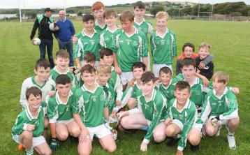 St Naul's snatch a dramatic late win over Kilcar in Southern U-14 Div. 2 final