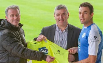 Joey O'Leary Financial Services is new Finn Harps sleeve sponsor