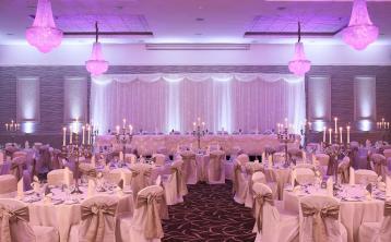 Radisson Hotel wedding event