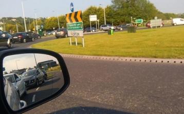Traffic delays Letterkenny