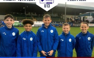 Finn Harps U-13s go top of the table after big win over Longford Town