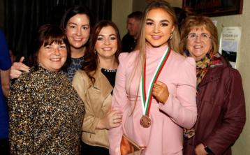 PICTURE GALLERY:  Great excitement at homecoming for European medallist Leah Gallen in Raphoe