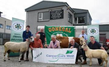 Donegal IFA to hold charity auction of donated livestock for Cancer Care West