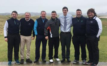 Ronnie Whelan and Shane Byrne prepare for charity golf event in Donegal