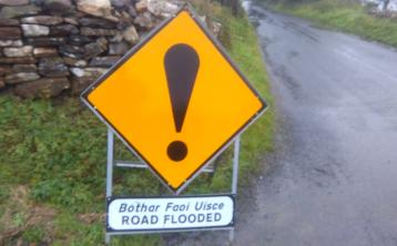 Several areas in Donegal hit by flash flooding