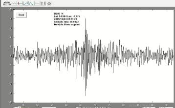 Milestone: 1,000 earthquakes have been recorded at monitoring station in a Donegal school