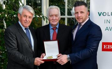 Donegal's Peadar McGranaghan honoured at 'Volunteers in Sport Awards'