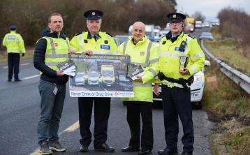 Donegal gardaí appealing to drivers this festive period not to drink or take drugs when driving