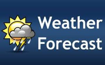 Weather Forecast for Sunday, December 13