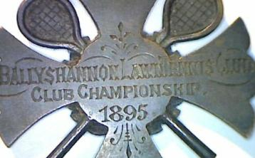 Rare Ballyshannon lawn tennis medal fetches over £100 on eBay