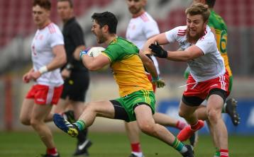 Tyrone captain Paudie Hampsey rues losing man for second half against Donegal
