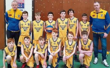 Very busy weekend for Donegal Town Basketball Club
