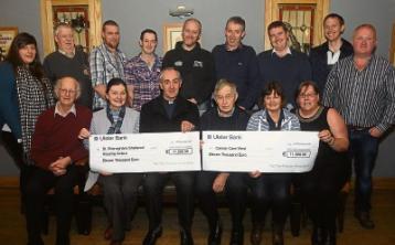 Ardara Poor Farmers Association present €22,000 to charities