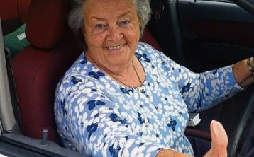 78-year-old Donegal granny is good enough to get a job on Top Gear!