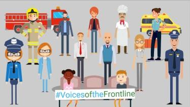 WATCH: Voice of the frontline want people to 'stick the course' with restrictions