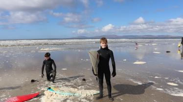 A board apart on Donegal's surfing beaches