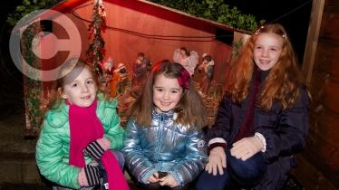 GALLERY: Santa arrives at Muff Community Park