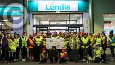 Donegal Service Station Hosts 5K Community Walk