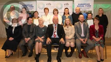 GALLERY: Donegal ETB Presentation of Awards held in the Waterfront Hotel, Dungloe