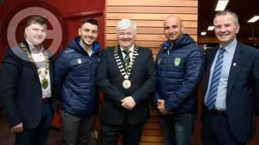 Donegal County Council holds Civic Reception honouring Tug of War International Federation