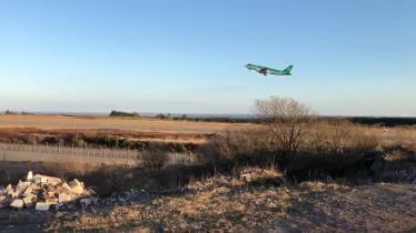 Last plane leaves Knock airport