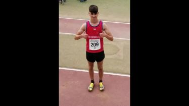 Outstanding performances from Tir Chonaill athletes at Ulster Championships in Belfast