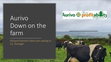 Watch: Well known Donegal farmer features in Aurivo Down on the farm video