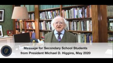 President Higgins video