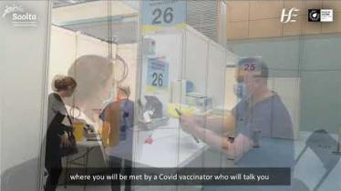 WATCH: Information for people scheduled for Covid-19 vaccine in HSE Donegal Vaccination Centre