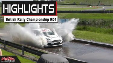 WATCH: Donegal interest in the first round of the British Rally Championship - see the highlights