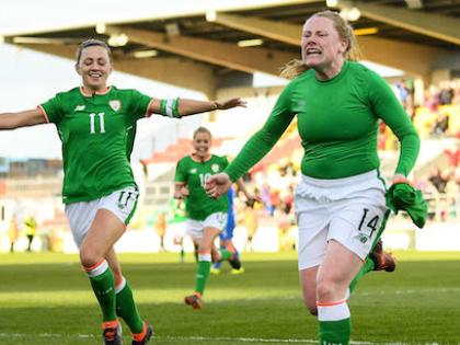 Donegal's Amber Barrett is Ireland hero with late goal to
