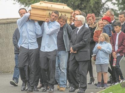 Hundreds attend the funeral Mass of 20 year-old Shiva Devine
