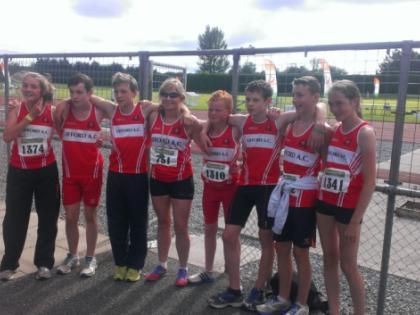 45th marathon for Lifford Strabane Athletic Clubs Gerard