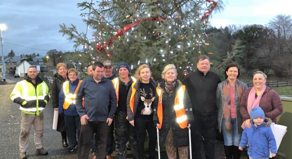 GALLERY: A beacon of light shines in small Donegal Village